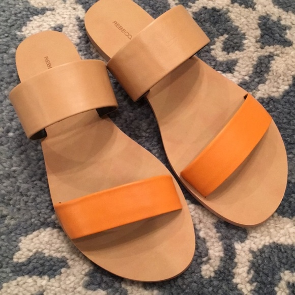 latest for sale outlet looking for Rebecca Minkoff Metallic Slide Sandals cheap latest collections get authentic JgfDz5W1A